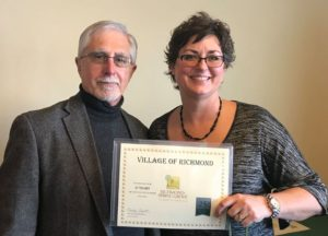 Celebrating 25 years with the Village of Richmond